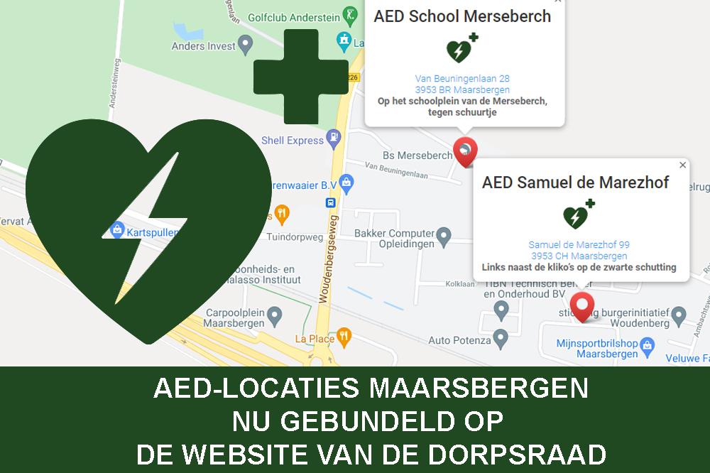 AED locaties in Maarsbergen